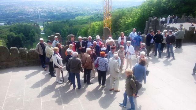 Wasserkaskaden Kassel tagesfahrt nach kassel der cdu seniorenunion diez aar